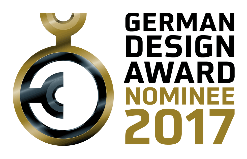 Nominierung German Design Award 2017