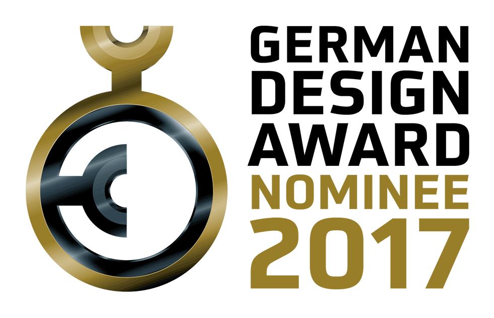 Nominierung German Design Award 2017